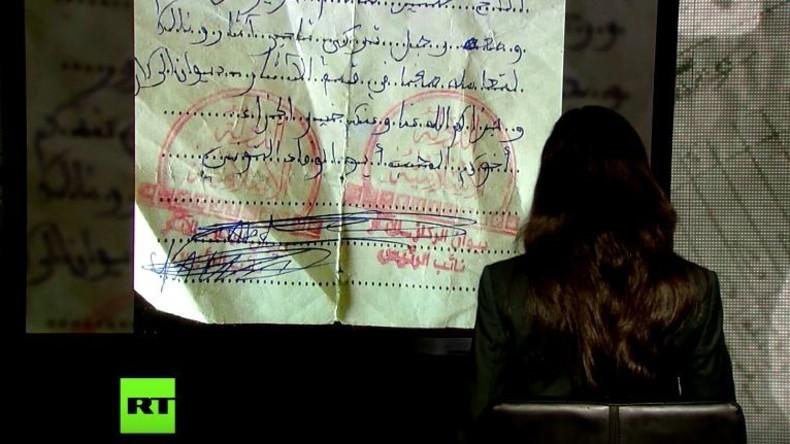 Exklusiv: RT legt Beweise für Handel des IS mit Raubkunst via Türkei vor