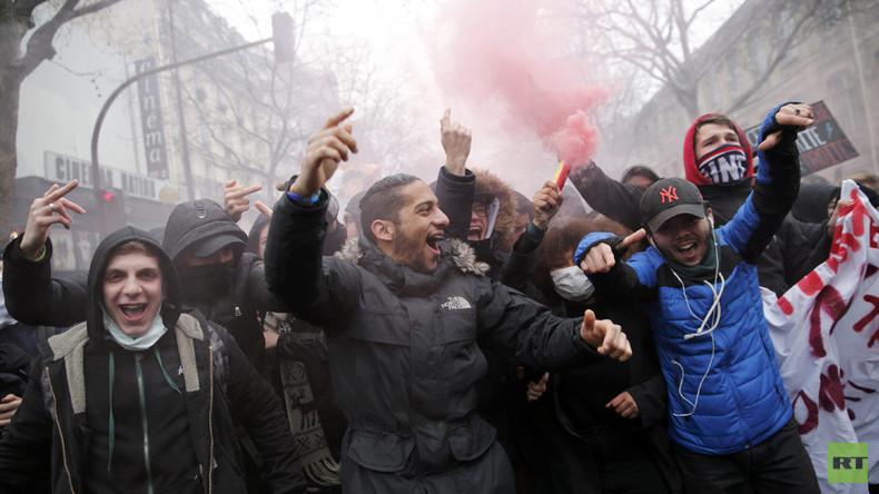 Streiks und Demos in ganz Frankreich gegen Arbeitsrechtsreform der sozialistischen Regierung