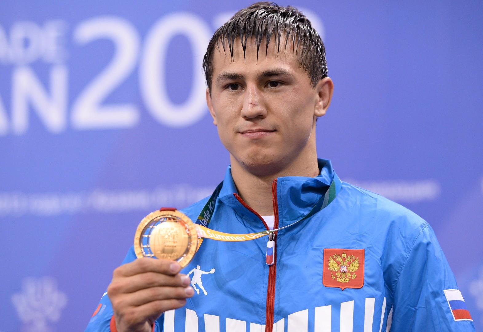 Auch Roman Vlasov war von einem Hymnentausch betroffen.