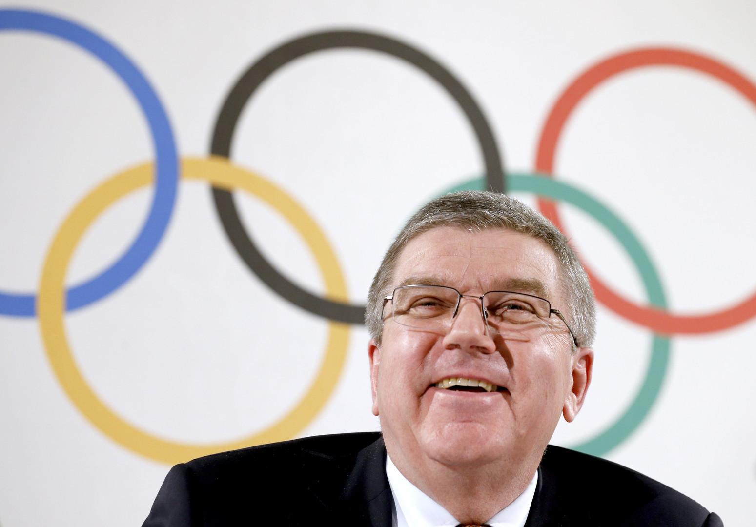 IOC- Präsident Thomas Bach verkündete am Mittwoch eine Flüchtlingsmannschaft