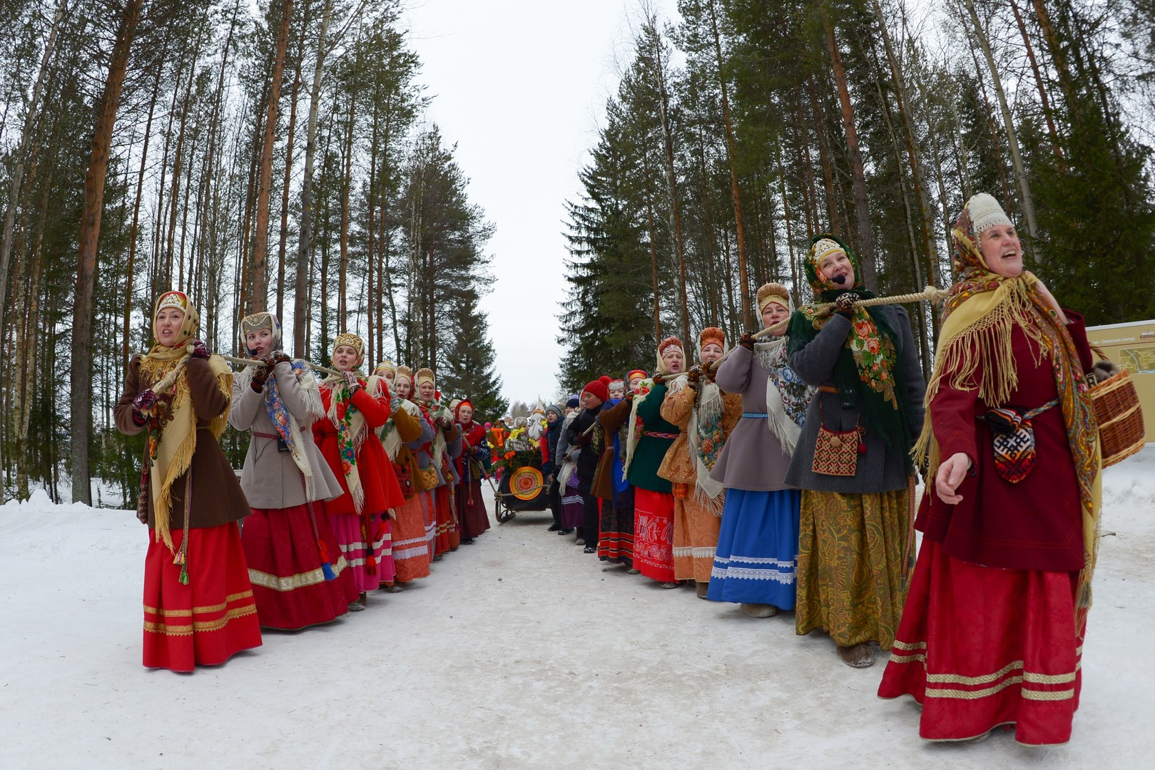 "RT Deutsch-Bildergalerie: Russland - Traditionelle ""Butterwoche"" in der Oblast Archangelsk"