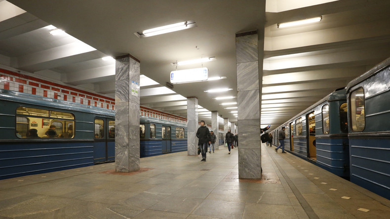 So sehen die Metro-Stationen an normalen Tagen aus.