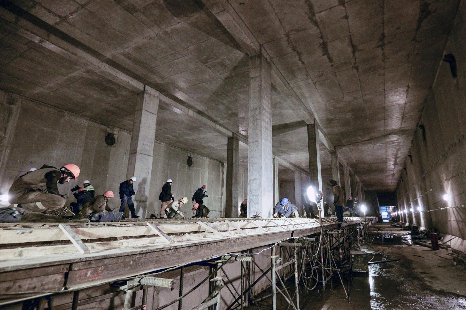 Die Ursache für den Menschenauflauf in der Moskauer Metro liegt hier...