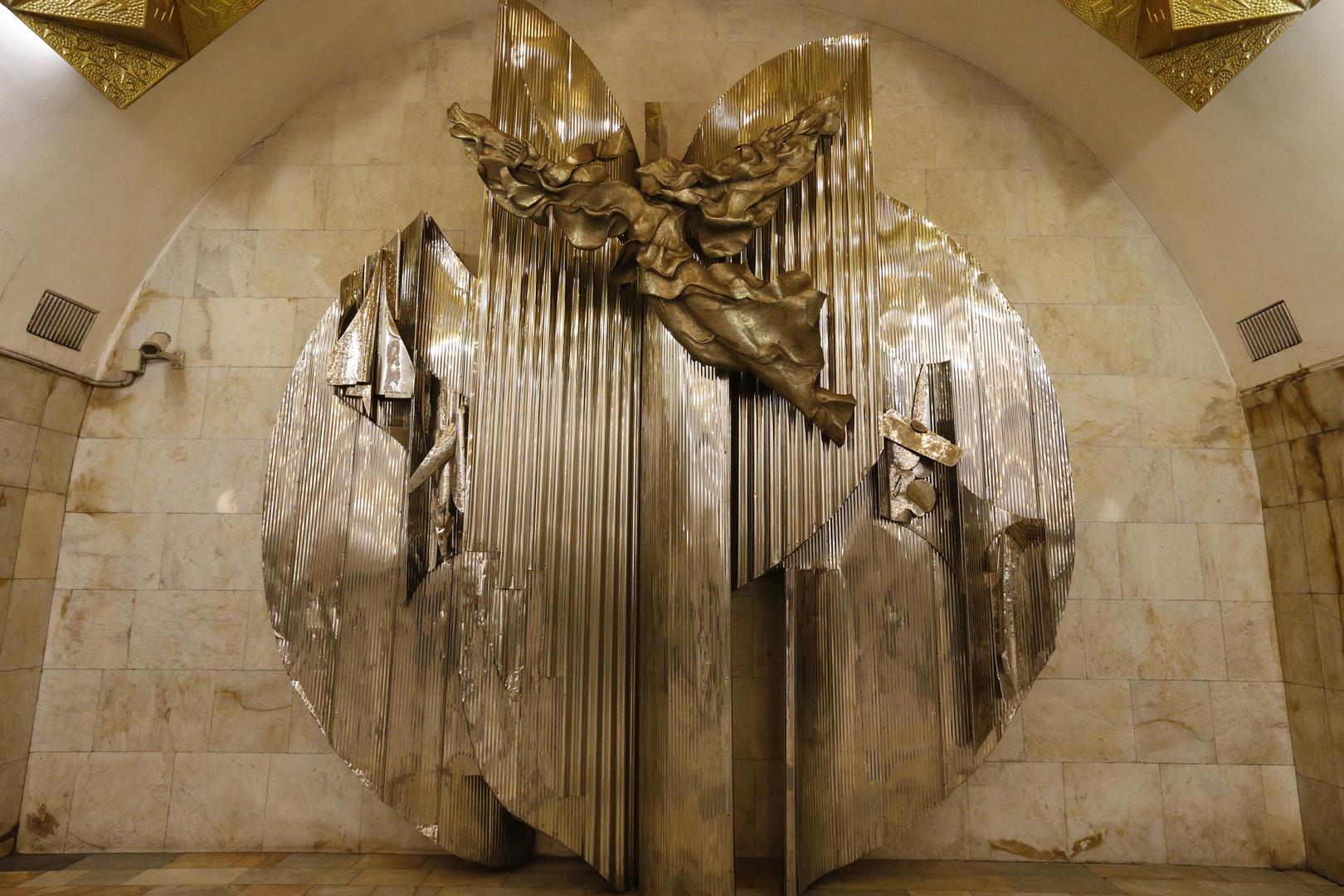 RT Deutsch-Bildergalerie: Die Perlen der Moskauer U-Bahnhöfe