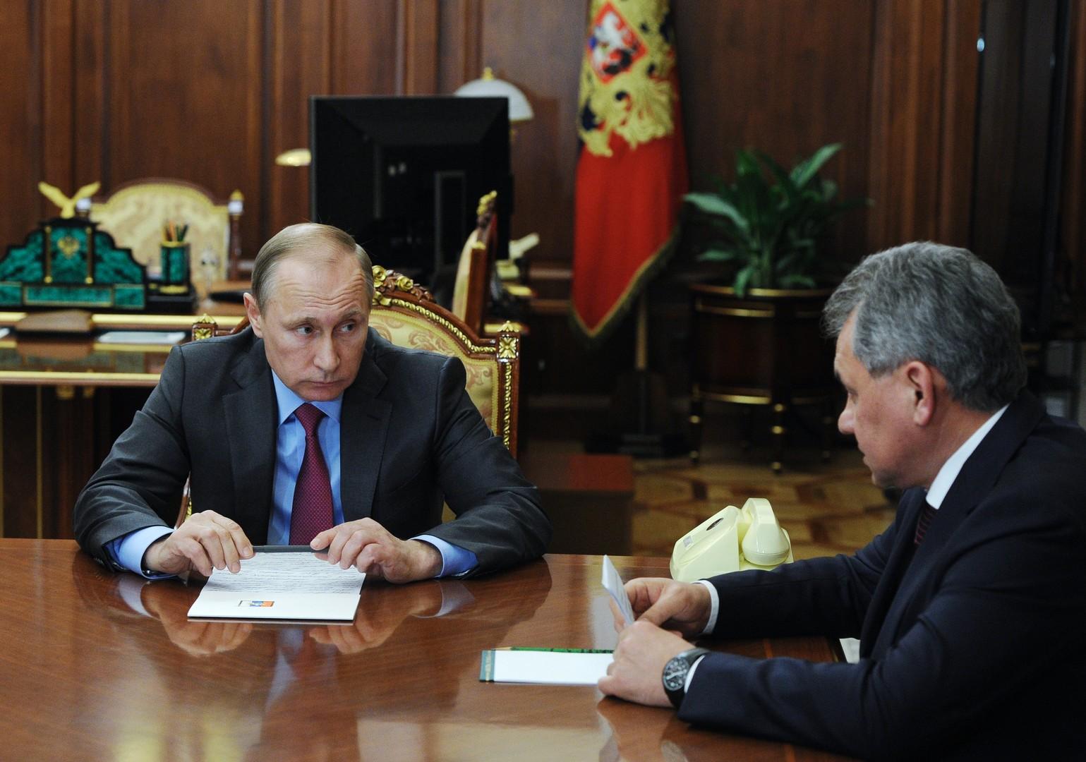 """""""Ziel erreicht"""" - Putin befiehlt Abzug der russischen Streitkräfte aus Syrien"""