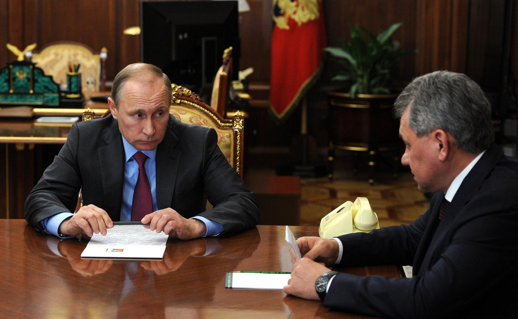 Moskau: Außenminister Lawrow und Verteidigungsminister Schoigu fassen Erfolge in Syrien zusammen