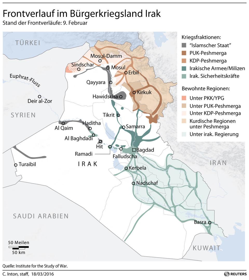USA verlegen zusätzlich Marines in den Irak: Baldiger Angriff auf Mosul wahrscheinlich