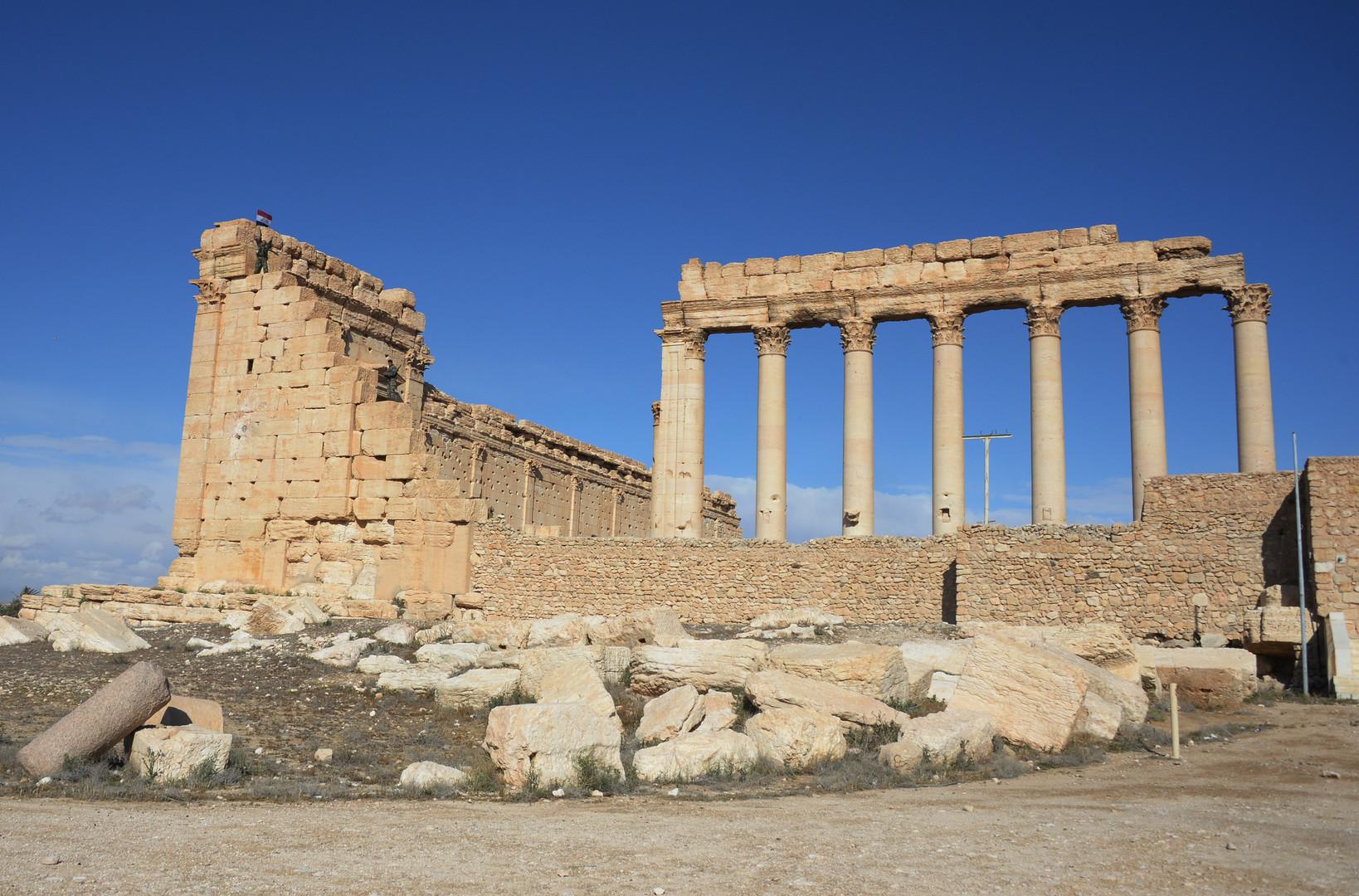 RT im Gespräch mit Kunstexperten zu Palmyra: Schäden enorm, aber Wiederherstellung möglich