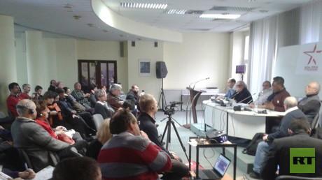 Zahlreiche Voträge gab es auf dem Sozialforum in Wroclaw