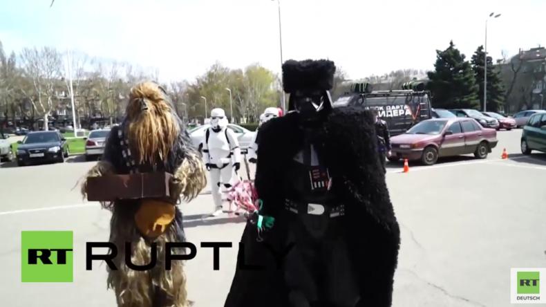 Ukraine: Das Imperium schlägt zurück! Darth Vader trollt Saakaschwili in Odessa