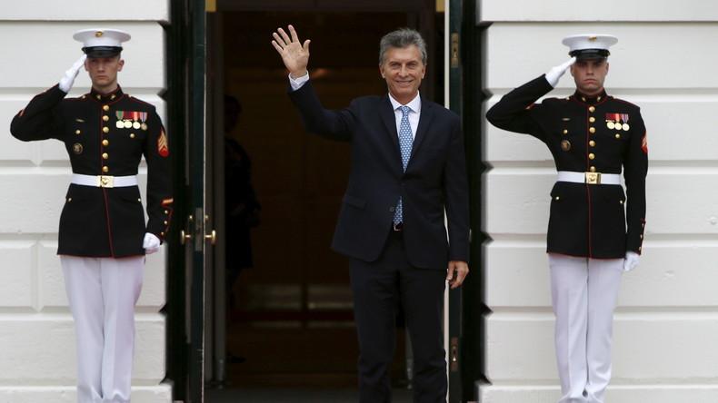 Panama Papers: Leak belastet argentinischen Präsidenten Mauricio Macri