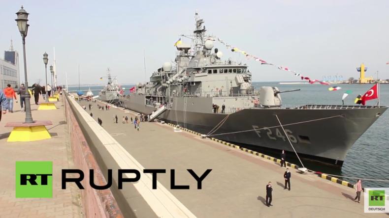 Türkische Kriegsschiffe erreichen Odessa im Rahmen des Türkei-Ukraine-Abkommens