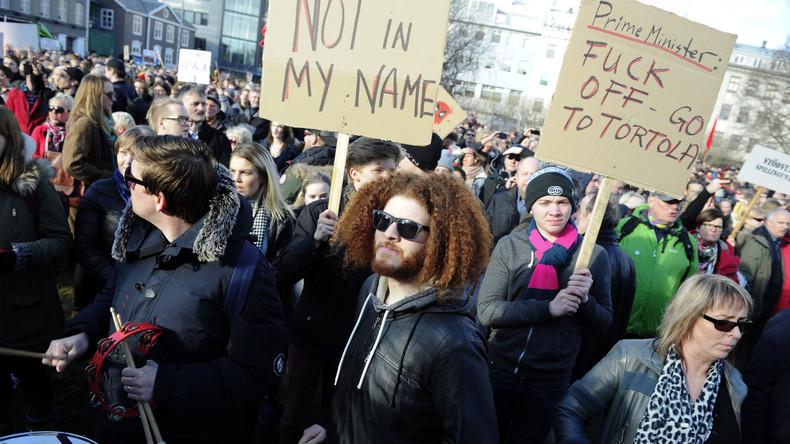 Panama Papers provozieren 'größten Protest' in der Geschichte Islands