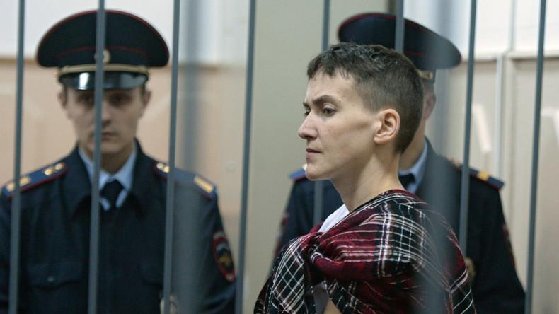 """Urteil gegen ukrainische Kampfpilotin Sawtschenko wegen """"Mord an Journalisten"""" ist in Kraft getreten"""