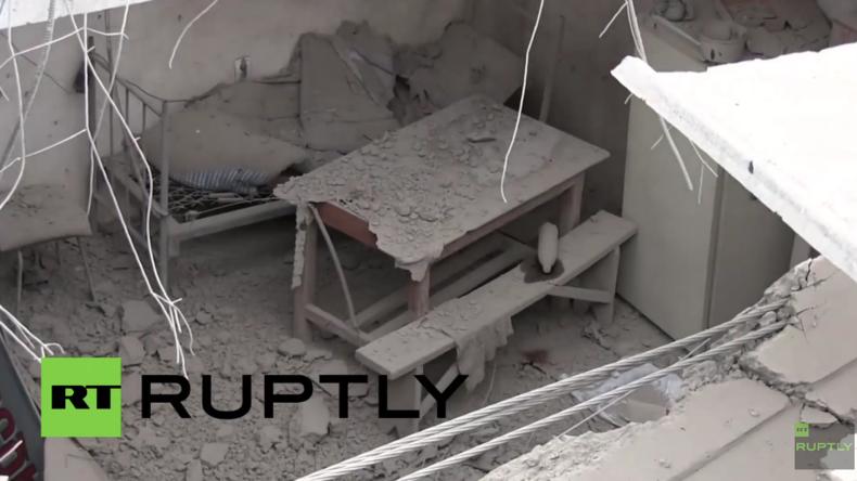 Berg-Karabach: Schwere Zerstörung nach Beschuss in Martakert