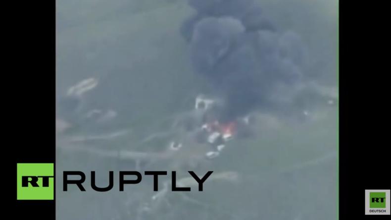 Bergkarabach: Baku veröffentlicht Video, das Zerstörung von Kommandozentrale zeigen soll