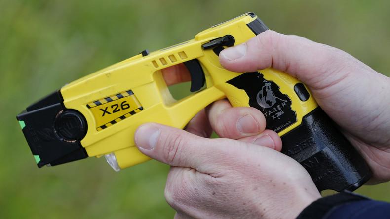 Zufälle gibt's: Deutsche Polizeigewerkschaft fordert Taser und wird von Taser-Hersteller gesponsert