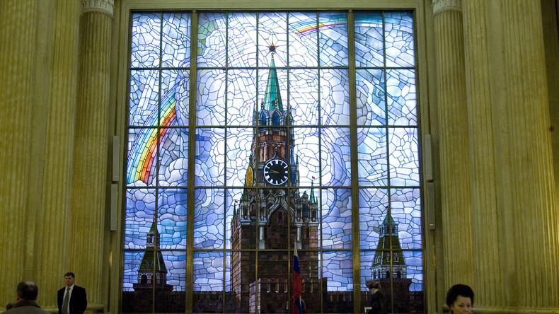 Live aus der Russischen Botschaft in Berlin - Diskussion zu den Beziehungen zwischen Russland und EU