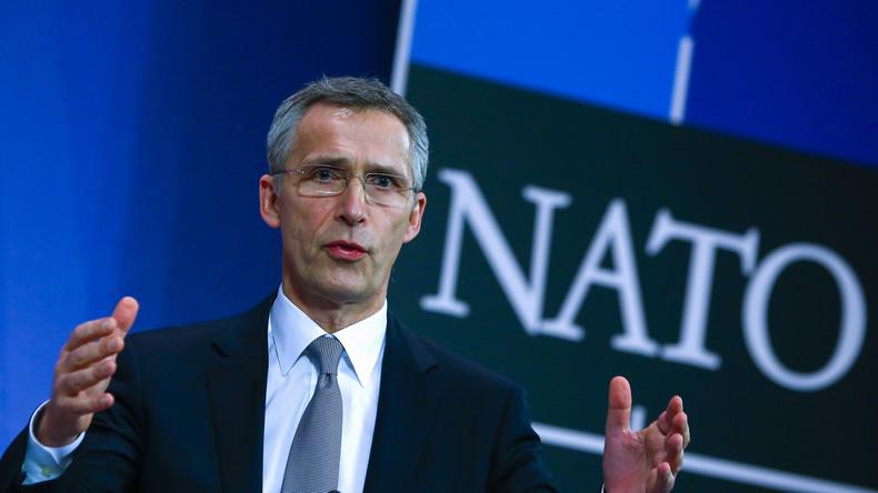 """Stoltenberg: """"Inakzeptabel, dass Russland versucht Einflusssphäre an seiner Grenze zu re-etablieren"""""""