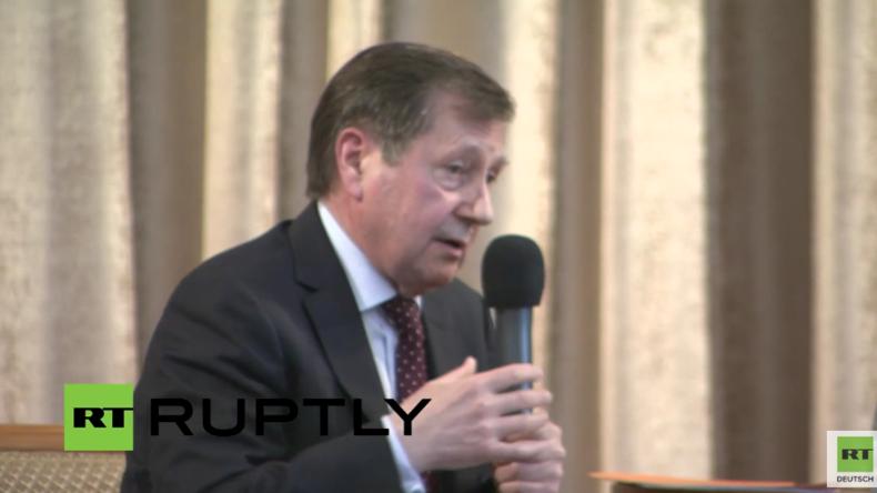 Grinin: Lockerung der Sanktionen ist von Kiew abhängig, also braucht man nicht damit rechnen