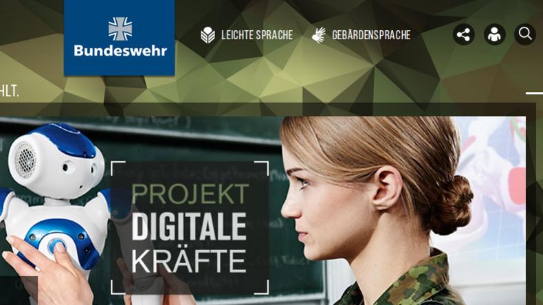 """Als Arbeitgeber jetzt fast so cool wie Google: Die Bundeswehr in ihrer Kampagne """"Projekt Digitale Kräfte"""". Quelle: https://www.bundeswehrkarriere.de/"""
