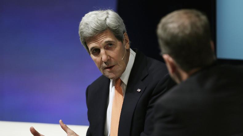 """John Kerry: """"Ohne Russlands konstruktive Rolle, kein Atomdeal und kein Waffenstillstand in Syrien"""""""