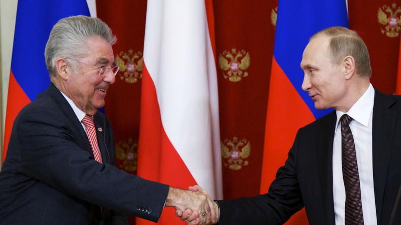 Österreichischer Bundespräsident: Russland-Sanktionen aufheben, da nachteilig für beide Seiten