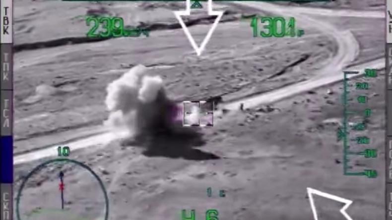 Russisches Verteidigungsministerium veröffentlicht neues Videomaterial zum Antiterrorkampf in Syrien