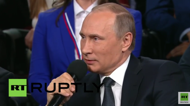 Russland: Putin nutzt seine Deutschkenntnisse, um für Willy Wimmer zu dolmetschen