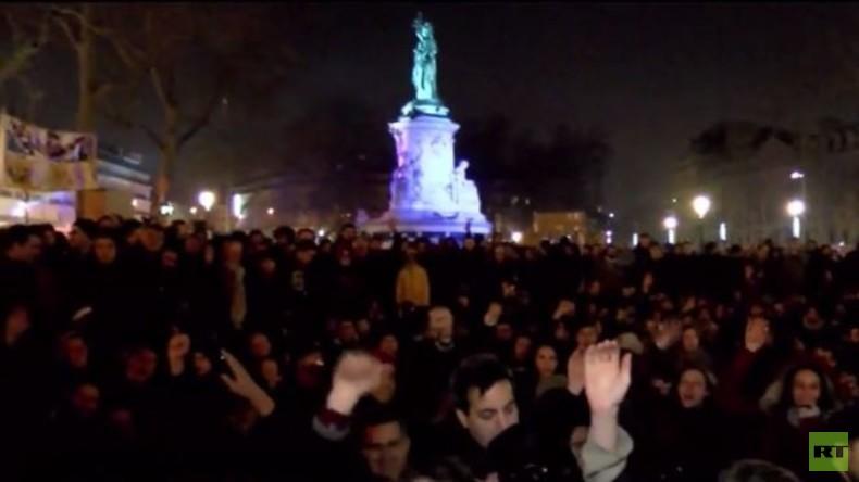 Proteste in Paris gegen politisches Establishment und Arbeitsmarktreformen