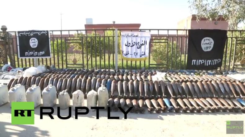 Irak: Armee neutralisiert Waffendepot und -betrieb des IS im befreiten Kubaysah