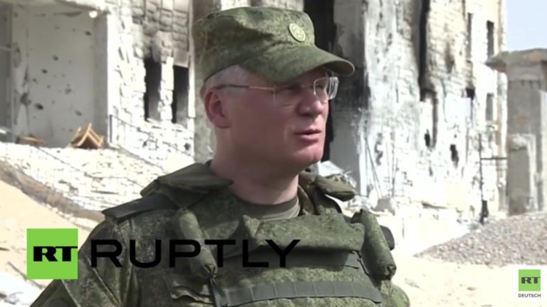 Al-Karjatain nach der Befreiung: Trotz starker Zerstörung kehren die Einwohner zurück - Konaschenkow