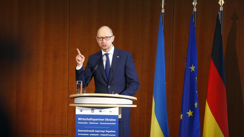 NYT: Jazenjuk ist Sinnbild der Ausweglosigkeit für die Post-Maidan-Ukraine