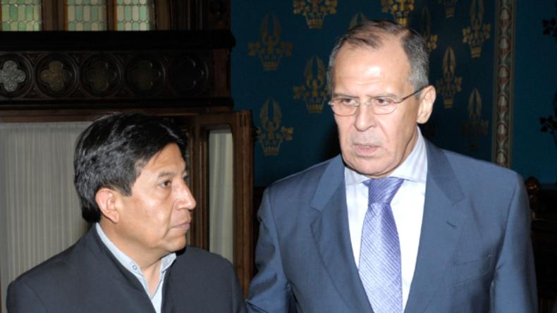 Live: Lawrow hält gemeinsame Pressekonferenz mit bolivianischem Außenminister Choquehuanca