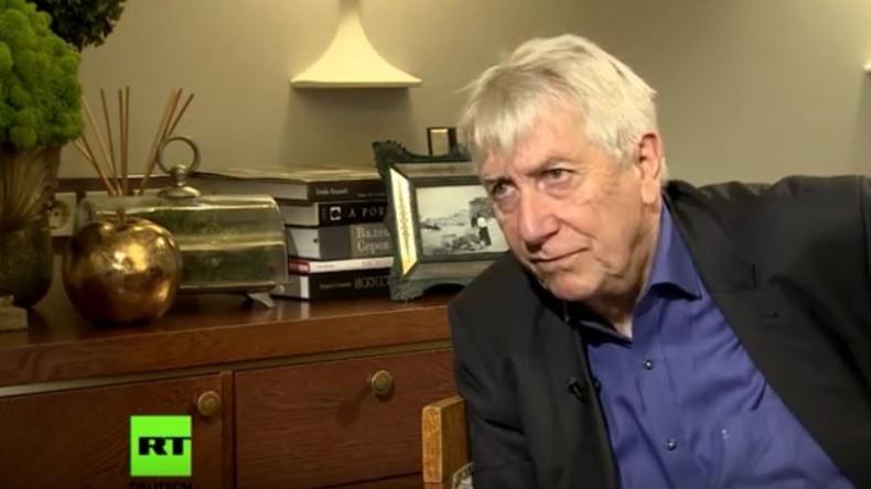 RT Deutsch-Interview mit Wolfgang Gehrcke in Moskau