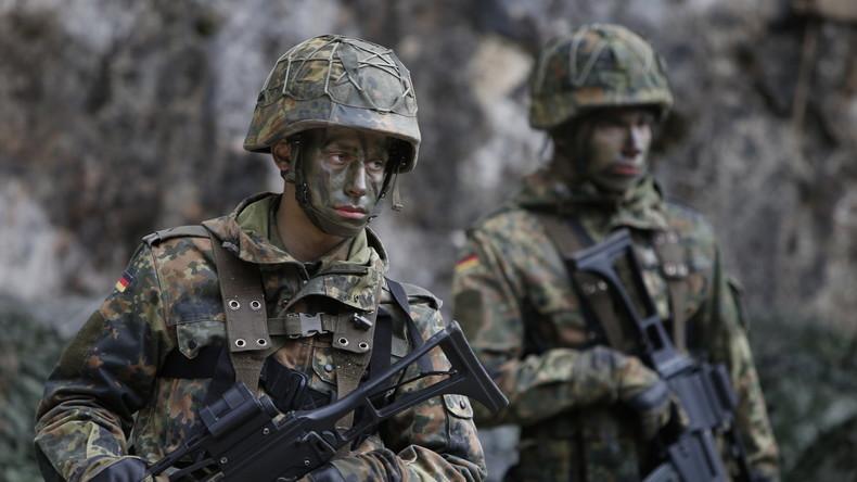 Künftig auch im Innern im Einsatz? Soldaten der Bundeswehr bei einer Übung