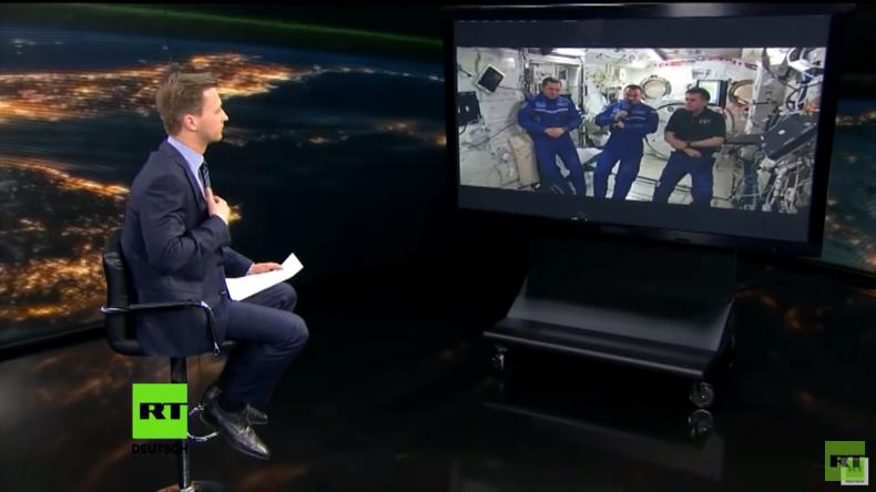 Vor 55 Jahren: 1. Weltraumflug von Juri Gagarin - RT sprach zu diesem Anlass mit der ISS-Besatzung