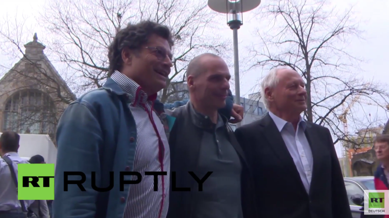 Varoufakis in Hannover: Ich bin froh, dass einige aus Angst vor den Panama Papers schlaflos sind