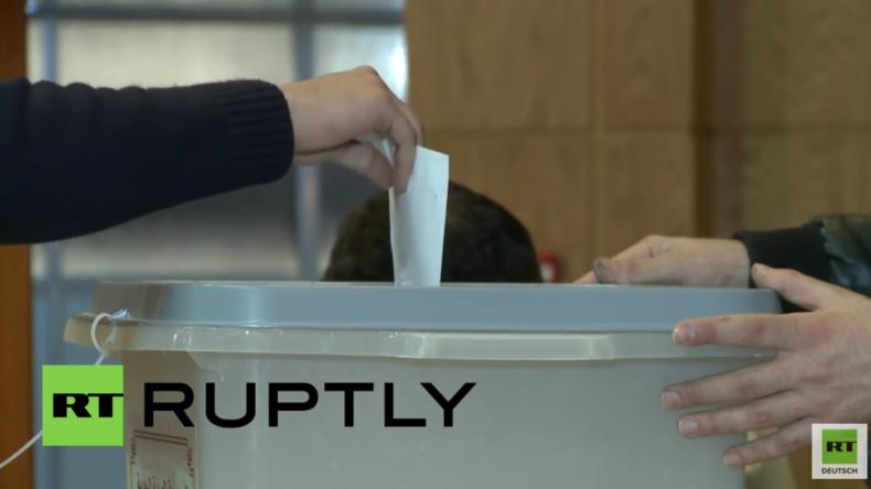 Parlamentswahlen in Syrien gestartet: Syrer geben ihre Stimmen ab