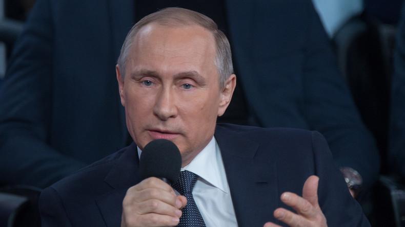 """""""Heißer Draht"""" mit Wladimir Putin: Mehr als 1 Million Fragen eingegangen"""