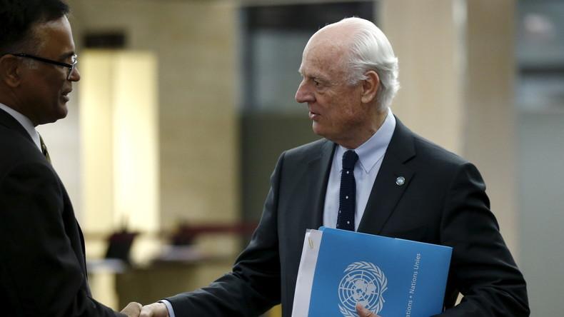 Live: Dritte Runde der Syriengespräche hat begonnen - erste Presseinformationen