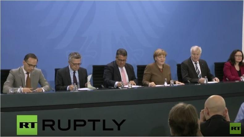 Live: Merkel und Koalitionsminister - Erklärung nach Spitzentreffen im Kanzleramt