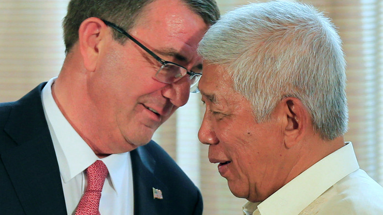 Pivot to Asia: USA und Philippinen starten enge militärische Zusammenarbeit gegen China