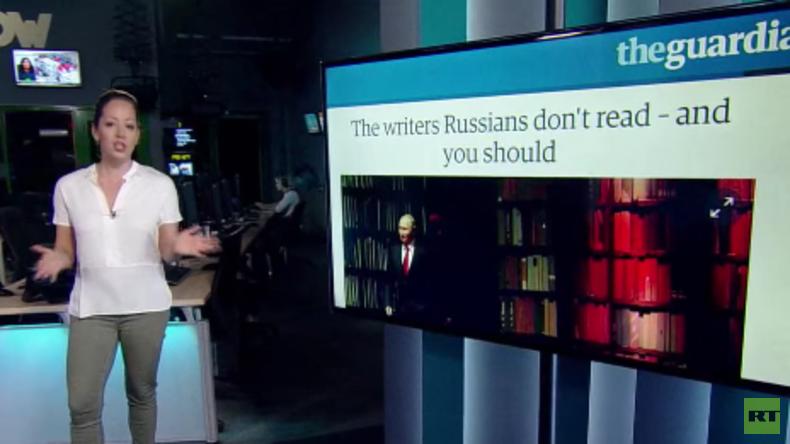 """The Guardian: """"Russen lesen nur klassische Bücher, um Putin nicht zu verärgern"""""""
