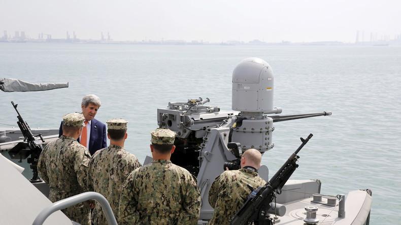 """Kerry: """"US-Zerstörer hätte die über ihn fliegenden russischen Kampfjets abschießen dürfen"""""""