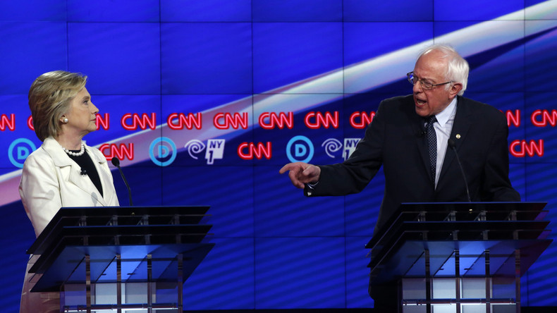 USA: Entscheidende Debatte zwischen Sanders und Clinton