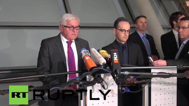 Deutschland: Steinmeier und Maas kritisieren Merkel für Böhmermann-Entscheidung