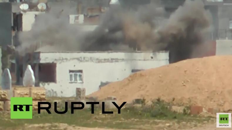 """Türkei: Türkische Armee nimmt """"Kurden-Stadt"""" Nusaybin erneut schwer unter Beschuss"""