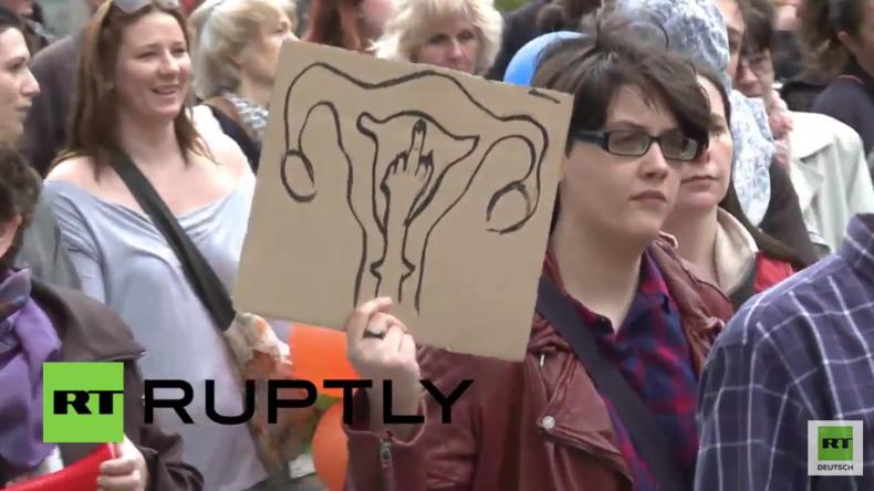 Polen: Tausende protestieren gegen mögliches Abtreibungsverbot