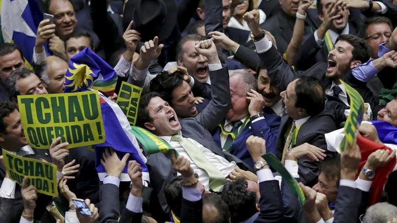 Rechte Mehrheit gegen Rousseff: Aufruf gegen Putsch und Betrug